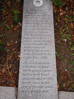 Battle Stirling Bridge Story, Stirling bridge Memorial Stone Stirling Sctland