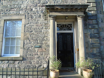 Sir Walter Scott. Childhood Home Edinburgh