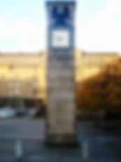 The Bell Clock Tower festival square edinburgh