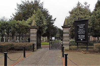 Dean Cemetery Main Gate Edinburgh