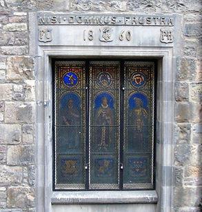 Stain Glass Window James's Court Lawnmarket Edinburgh