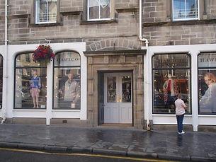 71 Grassmarket Edinburgh Door lintel inscription