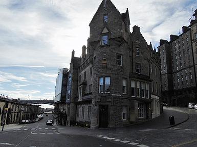 Cockburn Street and Market Street Junction Edinburgh