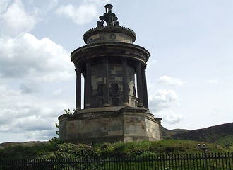 Robert Burns Memorial Calton Hill Edinburgh