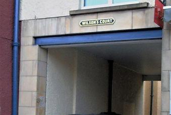 Wilson's Court High Street Royal Mile Ed