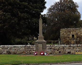 Gullane War Memorial East Lothian