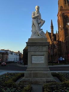 Robert Burns Statue Dumfries.