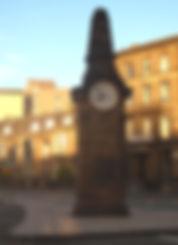 HAYMARKET CLOCK EDINBURGH