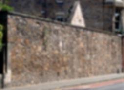 Town Wall Tablet Bristo Edinburgh Floddeanding Wall