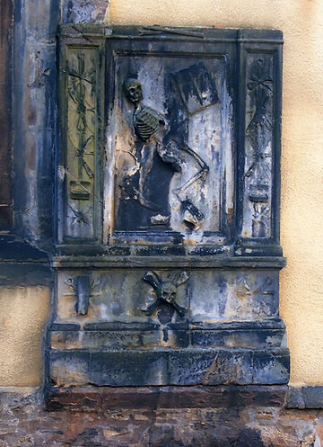 James Borthwick Greyfriars graveyard Edi