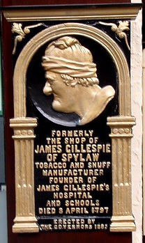 James Gillespie Tobaconist High Street Royal Mile Edinburgh