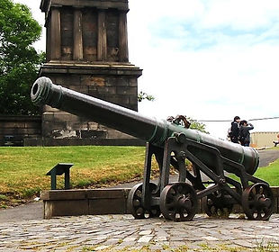 Portugees Cannon Calton Hill Edinburgh