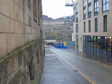 New Street Canongate Edinburgh