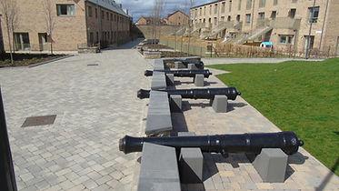 Leith Fort Leith Edinburgh Cannon