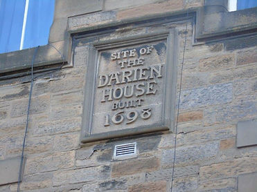 Darien House Wall Tablet Bristo Place Ed