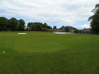 Scotland's International Cricket Ground.
