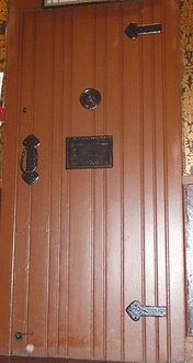 Calton Jail Death Cell Door Bee Hive Inn Grassmarket Edinburgh