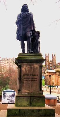 John Wilson statue memorial east princes Street Gardens Allaboutedinburgh Princes Street Edinburgh