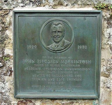 John Pitcairn Mackintosh Birthplace Giff