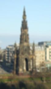 Walter Scotto Monument Princes Street Edinburgh