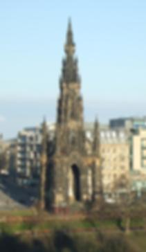 Sir Walter Scott monument Princes Street Edinburgh