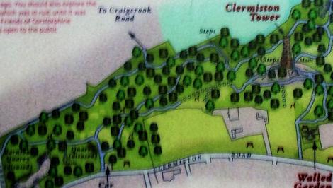 Corstorphine Hill Edinburgh Map