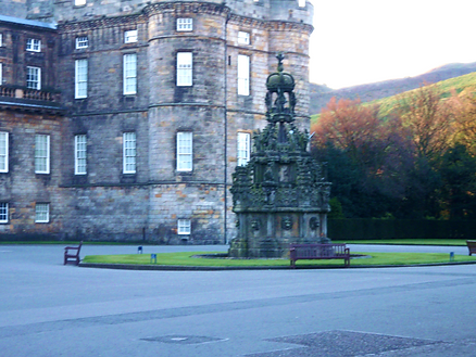 Abbey Strand Holyrood House Water Fountain