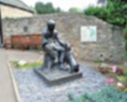 Robert Louis Stevenson Statue Colinton Village