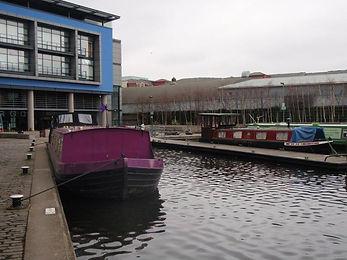 Barge Centre Union Canal Fountainbridge