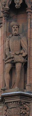 statues of Earl of Moray scottish national portrait gallery queen street edinburgh