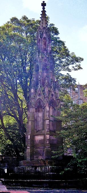 Replica Scott Monument Memorial to Catherine Sinclair