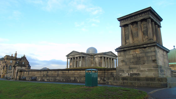 City Observatory Calton Hill Edinburgh