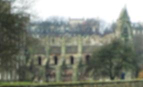 Holyrood Abbey Canongate Edinburgh