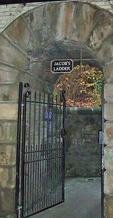 Jaccob's Ladder Calton Hill Edinburgh