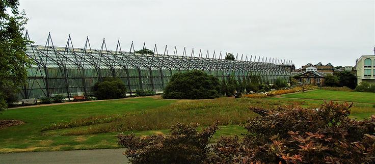 Botanic Gardens Glasshouse Royal Botanic Gardens Edinburgh.