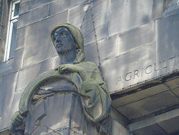 St Andrews House Agriculture Statue