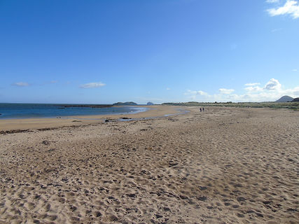 Yellowcraigs Beach Dirleton East Lothian