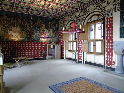 Queen Inner Hall Stirling Castle Royal P