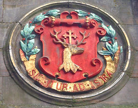 Mecat Cross Canongate Coat of Arms Medallion