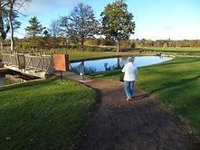 Bridge to Fairy Trail Archerfield East Lothian
