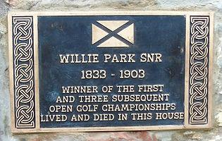 Willie Park Snr. Musselburgh Open Golf C