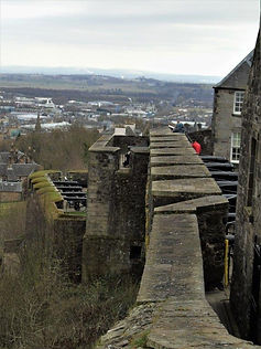 Stirling Castle  Batteries The Lines of