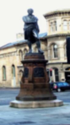 Robert Burns Statue Leith Edinburgh