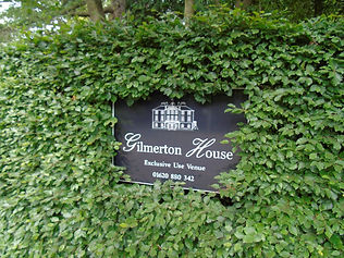 Gilmerton House Sign East Fortune East L