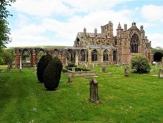 Melrose Abbey Scottish Border Attraction