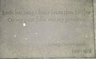 SYDNEY GOODSIR SMITH