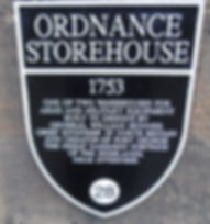 Ordnance Storehouse Plaque Hospital Square Edinburgh Castle