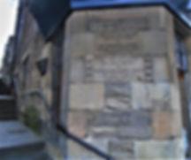 Salvartion Army Memorial Plaque First womens Hostel West Port Grassmarket Edinburgh