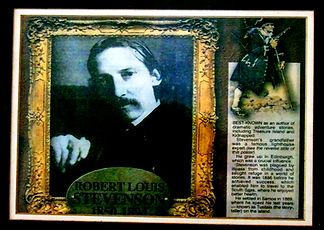 Portrait of Robert Louis Stevenson