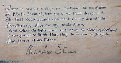 Letter by Robert Louis Stevenson